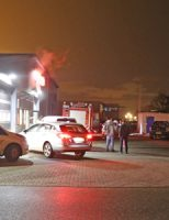 17 november Opnieuw brand in autowasstraat Kouwe Hoek Waddinxveen