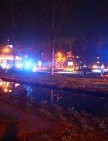 30 november Bestelbusje te water, bestuurder gewond Goudse Poort Gouda