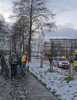 12 december Auto raakt te water, bestuurder lichtgewond Goudse Houtsingel Gouda