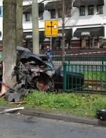 Ernstige aanrijding Fruitweg Den Haag