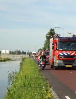 17 juli Melding 'Gaslek' Veenweg Den Haag