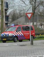 19 maart Brandweer doet onderzoek naar benzinelucht in berging Havikhoek Waddinxveen