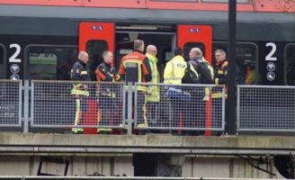 1 april Brandweer rukt uit voor lichte rookontwikkeling in trein Stationsplein Gouda