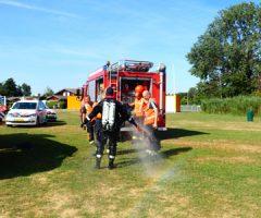 2 augustus Kleding en fiets langs waterkant zorgt voor inzet hulpdiensten Reeuwijksehoutwal Reeuwijk