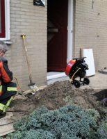 25 november Gas lekkage in woonwijk Walmolenerf Gouda