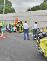Gewonden bij aanrijding A12 Zoetermeer