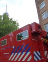 Grip 1 na oververhitting zendmast Prinses Beatrixlaan Den Haag