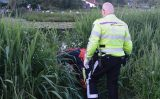 25 mei Verdacht object in het water blijkt een net vol met vis Wilhelminakade Waddinxveen