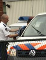 Man in auto aangehouden Lessenaar Delft