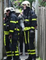 Brand in schuurtje Verlengde Singelstraat Delft