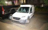 25 september Bestuurder van bestelbusje richt ravage aan en slaat op de vlucht Woudseweg Den Hoorn