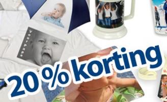 Reclame : Fotobister bestaat 10-jaar: 20% kortings aktie (vaderdag tip)