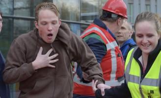 Grote crisisoefening bij het LUMC Leiden