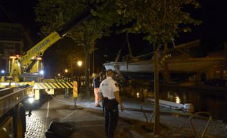 19 juli Politie neemt boot in beslag