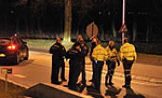 Politie lost waarschuwingsschot bij achtervolging Hoefweg Bleiswijk