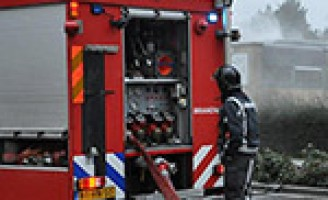 Brand in leegstaand pand Pascalweg Rotterdam