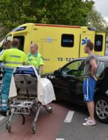 12 juni Aanrijding Auto versus Bromfietser Zoetermeer