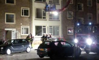 18 december Woningen ontruimd bij brand Schoonhetenstraat