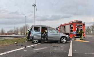 8 februari Gewonde na ongeval A12 Zoetermeer