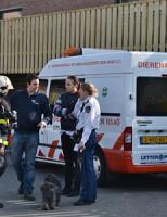 11 maart Brand in woning Turfberg Zoetermeer