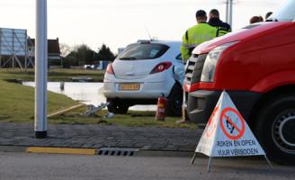 3 febuari Groot gaslek door ongeval Harnaschdreef Den Hoorn