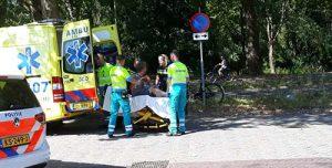 23 juli Dronken student veroorzaakt ongeval Schoemakerstraat Delft