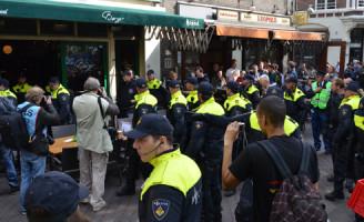 21 september Demonstraties goed verlopen