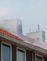 Zeer grote uitslaande brand in woning Stalpaert van der Wieleweg Delft