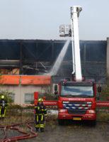 [UPDATE] 17 november Zeer Grote Brand in leegstaande loods Schoemakerstraat Delft