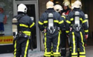 Woningen ontruimd na brand in bakkerij Papsouwselaan Delft
