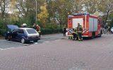 17 oktober Omstanders blussen brand in motorcompartiment Gildenburg Gouda