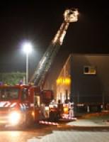 Grote brand in bedrijfsverzamelgebouw Oude Tonge