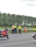 Motorrijder gewond bij aanrijding A12 Zoetermeer