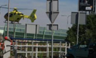 Fietsers geschept door automobilist Delfgauwseweg Delft