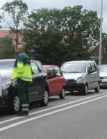 24 juni Kop-staartbotsing tussen 5 voertuigen