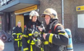 Supermarkt ontruimd na brand Van Bergenstraat Den Haag