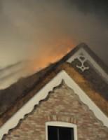 Grote brand in villa Rottekade Bergschenhoek
