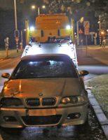 16 oktober BMW in brand gestoken Guntersteinweg Den Haag