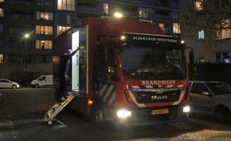 16 oktober Flinke rookontwikkeling in portiek door brand Clavecimbellaan Rijswijk