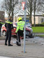 18 november Flinke schade bij aanrijding tussen twee auto's Generaal Spoorlaan Rijswijk