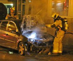 25 november Auto in brand Prinses Margrietsingel Rijswijk