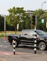25 augustus Flinke schade bij aanrijding Prinses Beatrixlaan Rijswijk