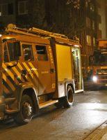 9 oktober Middelbrand door Hoverboard aan lader Melis Stokelaan Den Haag