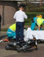 Automobilist (17) vlucht na aanrijding Maasboulevard Schiedam