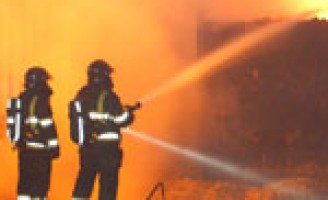 Paarden overleden bij grote brand in manage Herikweg Hoogvliet