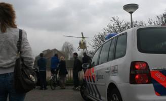 Inzet traumahelikopter bij medische noodsituatie Looksingel Den Hoorn