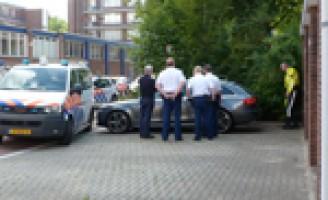 Gestolen auto teruggevonden na zoektocht Hemsterhuisstraat Rotterdam
