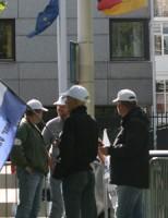NVU-Demonstratie Duitse ambassade rustig verlopen