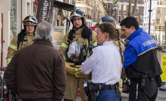 23 maart Vergeten pannetje bij de Spartabakker Schiedam