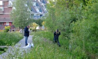 14 mei Persoon in sloot aangetroffen Leiderdorp